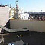 terrasse de la chambre 615