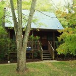 The cabin we stayed in #12 ....