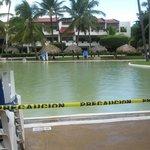 inondation de la veille piscines non fonctionnelles
