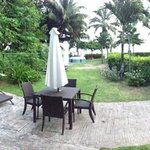 verandah of villa eve