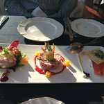 trio of appetisers for two