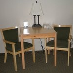 Table space in all guest rooms