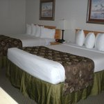 Family Suite has two bedrooms, accomodates six guests.