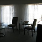Lounge area in my Classic Suite