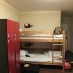 Storage and bunks