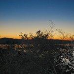 tramonto dal Residence La Rocca