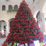 le sapin de Noel du lobby