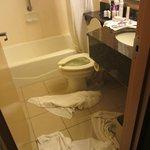banheiro já todo alagado!!!
