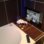 tv in the en suite, love it
