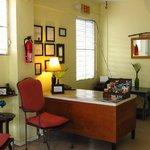 Maria's desk