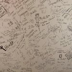 Joe's/Maria's wall of fame