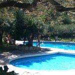 Im Poolbereich
