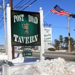 Post Road Tavern - Sign