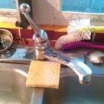 no hot water in kitchen