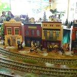 Train village