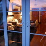 Outside looking in - so inviting! ~ ambleside suite