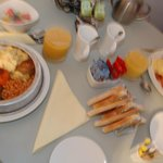 MMMM...our delicious breakfast ~ambleside suite