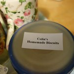Colin's yummy homemade biscuits!