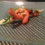 Shrimp at restaruant