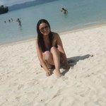 Me & the powdery white sand