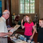 Being Sworn in as Jr Rangers