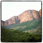 view from Tlopi Tented camp