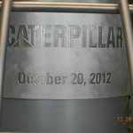 Time capsule in the lobby