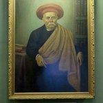Portrait of Dr. Bhau Daji Lad