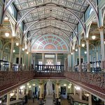 Stunning interior of the building