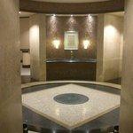 Eingangsbereich zur Spa