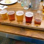 Beer tasting plate