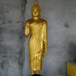Statue under verandah of Buddha