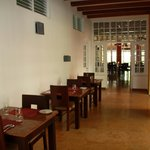 Hallway areas where to take a coffee, meal @ Tean Bungalow (Cochin - India)