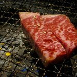 Premium Wagyu on the grill