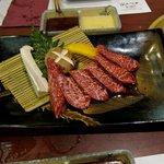 Wagyu rib meat