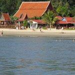 resort from boat