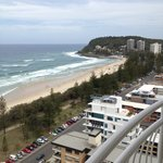 View to the south, across Burleigh Heads