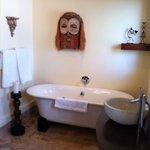 Our African bathroom