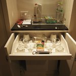 Kitchenette amenities