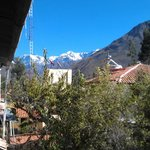 The mountains seen from El Albergue