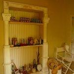 Vendita prodotti tipici realizzati dalla padrona di casa