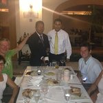 La Trattoria with sommelier and waiter