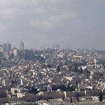 Old Jerusalem from hotel window