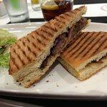 Beef panino