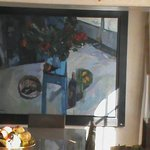 WONDERFUL PAINTING IN DINING ROOM