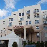 fachada principal do hotel