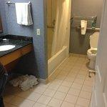 large washroom!!