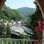 view to  Ponte a Serraglio , Bagni di Lucca