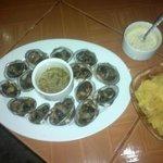 Disfrute de las mas deliciosas conchas asadas