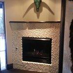 Taos Mountain Room fireplace